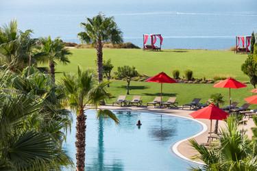Fotografia de Hotelaria - Piscina em hotel no Algarve