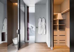 Fotografia de Interiores - Closet em quarto de hotel on Douro