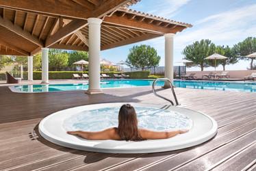 Fotografia de Hotelaria - Jacuzzi em hotel no Algarve