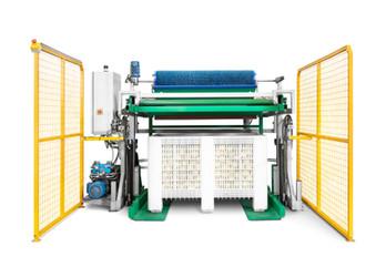 Indústria - máquina de calibragem de fruta