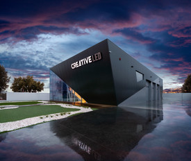 Fotografia de Arquitectura - Fachada de empresa (Alentejo)