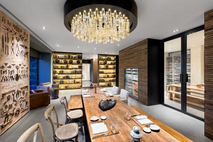 Fotografia de Interiores - Restaurante no Douro