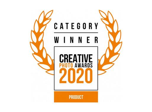 Vencedor da categoria de fotografia de produto nos Creative Photo Awards 2020