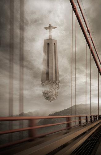 Fotomontagem/Arte Digital - Surrealismo Lisboa