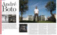 Article Newspaper Jornal de Negócios, artigo em jornal, publicação fotógrafo jornal, entrevista fotógrafo jornal, entrevista fotógrafo, André Boto jornal, André Boto artigo