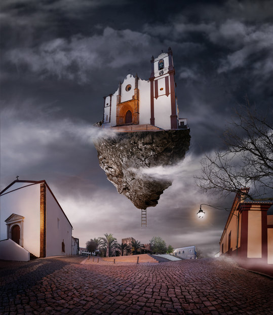 Fotomontagem/Arte Digital - Surrealismo Silves