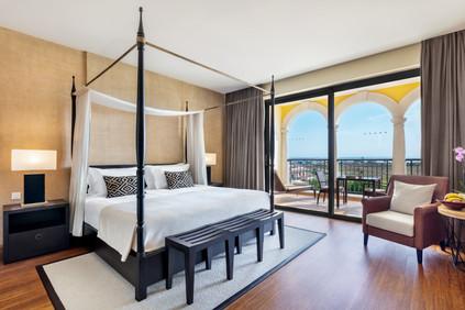 Fotografia de Interiores - Quarto de hotel no Algarve