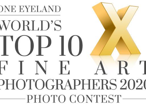 Distinções no OneEyeLand World's Top 10 Fine Art Photographers 2020