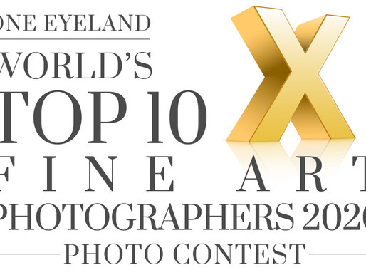 Distinções no OneEyeLand World's Top 10 Fine Art Photographers 2020