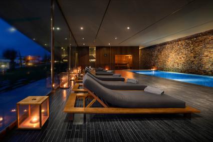Fotografia de Interiores - Spa - Piscina interior no Alentejo