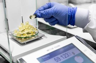 Indústria - pesagem e controlo de qualidade em farmacêutica