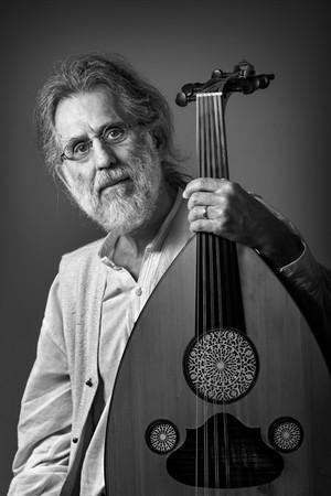 Fotografia de Retrato - Músico Eduardo Ramos (alaúde)