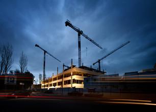 Indústria - construção edifício em Lisboa