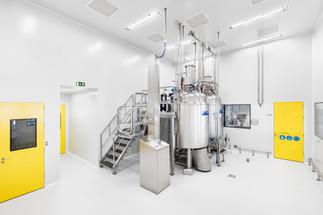 Indústria - produção em farmacêutica