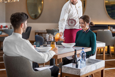Fotografia de Interiores - Serviço de restaurante no Algarve