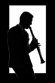 Fotografia de Retrato com Saxofonista