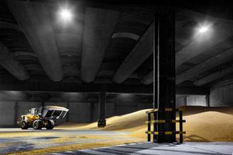 Industrial - armazenamento de cereal a granel
