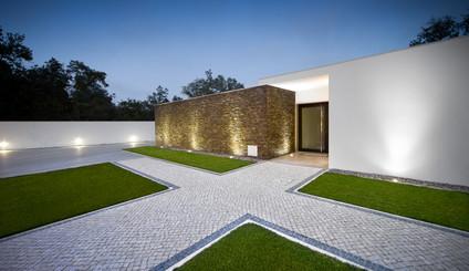 Fotografia de Arquitectura de Exteriores - Moradia na zona centro