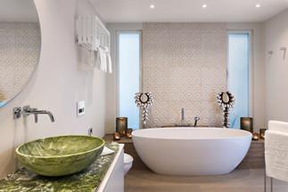 Fotografia de Interiores - Casa de banho em hotel no Algarve