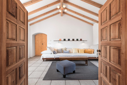 Fotografia de Interiores - Sala de alojamento local no Alentejo