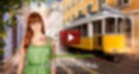 Imagem com ligação para o video da publicidade criada por André Boto para a Sagres Radler