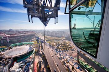 Indústria - construção de centro comercial em Lisboa