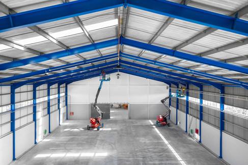 Fotografia Aérea (drone) - Ambiente industrial (armazém)