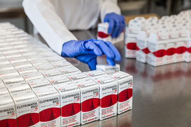 Indústria - embalamento em farmacêutica