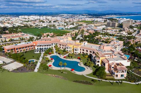 Fotografia Aérea (drone) - Hotel em Lagos, Algarve