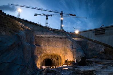Indústria - construção de túnel