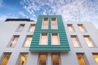 Fotografia de Arquitectura - Fachada de prédio em Leiria