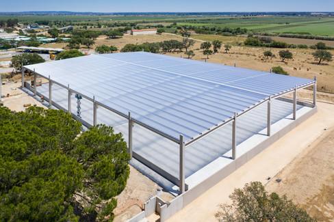 Fotografia Aérea (drone) - Ambiente industrial