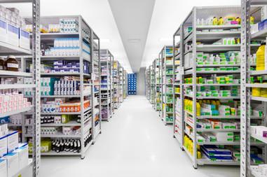 Indústria - armazenamento em farmacêutica