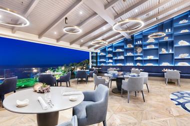 Fotografia de Interiores - Restaurante Ocean (estrela Michelin)