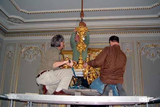 antique lighting fixture - lamp repair service PROVIDENCE RI