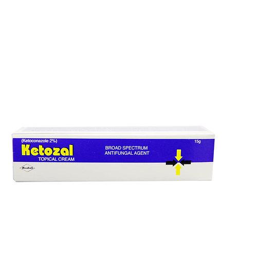 *KETOZAL TOPICAL CREAM15G