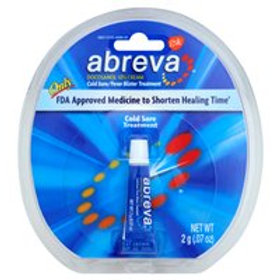 ABREVA COLD SORE CREAM 2 GRAM