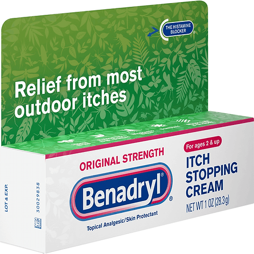 *BENADRYL CREAM 1OZ ORIGINAL