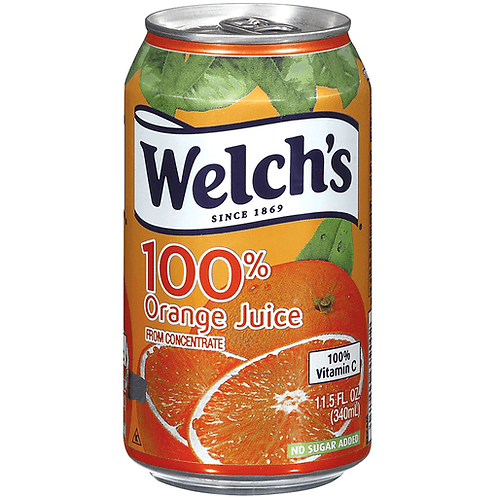 WELCH ORANGE/JUICE 11.5OZ