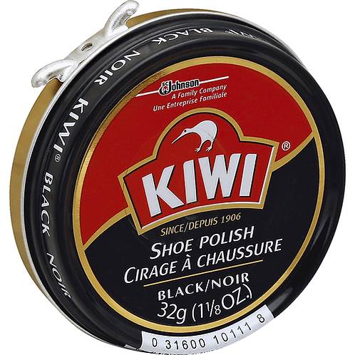 KIWI SHOE POLISH 1.125OZ BLK
