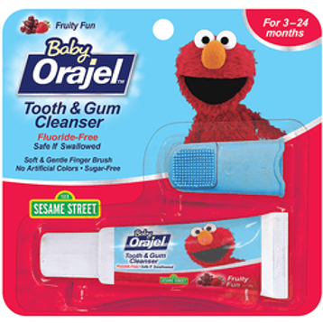 BABY ORAJEL TOOTH&GUM CLEANER