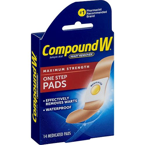 COMPOUND W 14 PADS