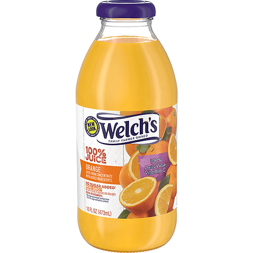 WELCH'S ORANGE JUICE 16OZ