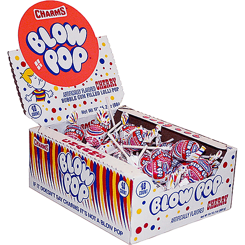 CHARMS BLOW POP ASSORTED CANDY