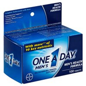 ONE A DAY MENS FORMULA 100tabs