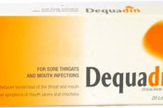 DEQUADIN LOZENGES 20CT