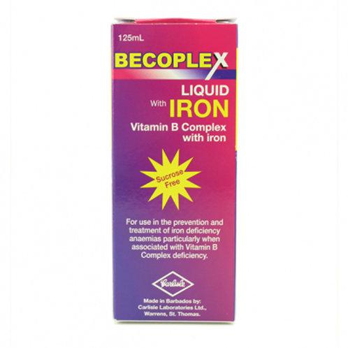BECOPLEX W/IRON SYRUP 125ML