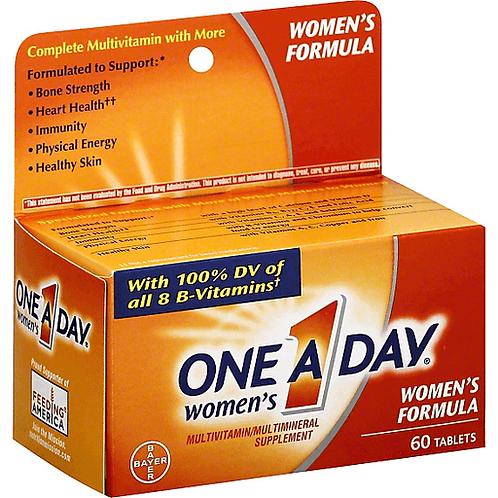 ONE-A-DAY WOMEN TAB  60TAB