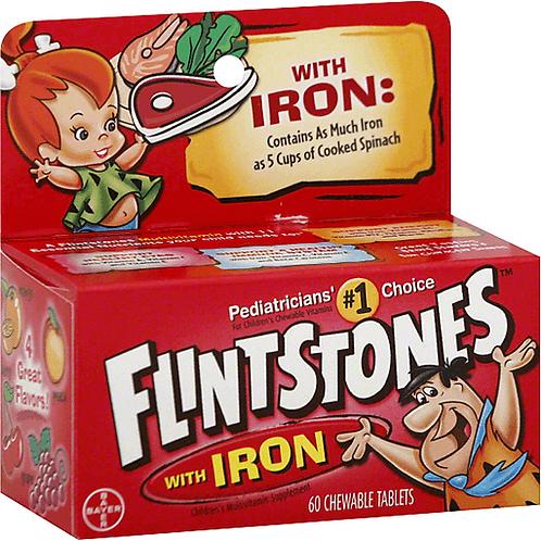 FLINTSTONES TAB 60 MUL VIT+I