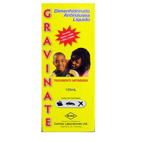 *GRAVINATE 15MG/5ML 125L LIQ